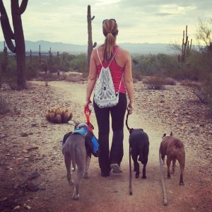 Lindsey Wescott, Doggie Stayed Home Founder & Trainer